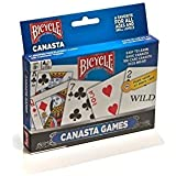 Poker Size (3.5 By 2.5 Inches) - Bicycle Canasta Games Playing Cards