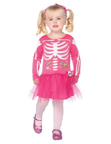 Baby-Toddler-Costume Candy Skeleton Toddler Costume 3T-4T Halloween Costume