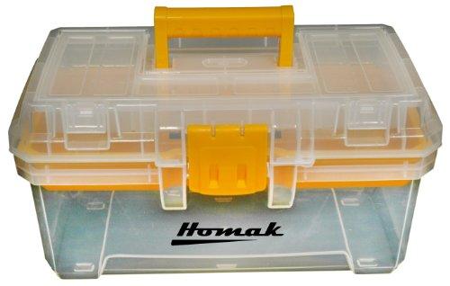 Homak   TP00115088 15-Inch Plastic Transparent