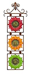 Benzara Metal Sunflower Decor Wide Gift for Every One, 13\