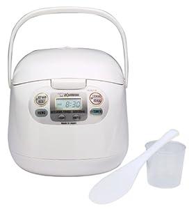 Zojirushi NS-KCC05 Micom Programmable 3-Cup Rice Cooker & Warmer