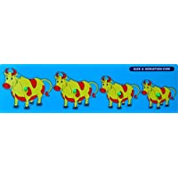 Little Genius Cow Seriation Big With Knob, Multi Color