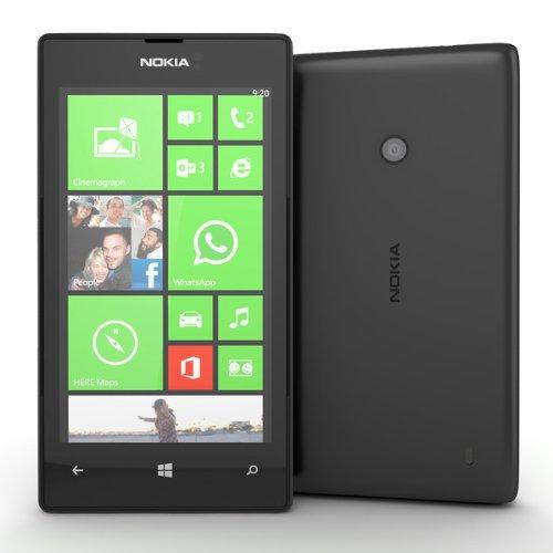 Comparamus - Nokia Unlocked Lumia 520 3G Phone, 4-Inch