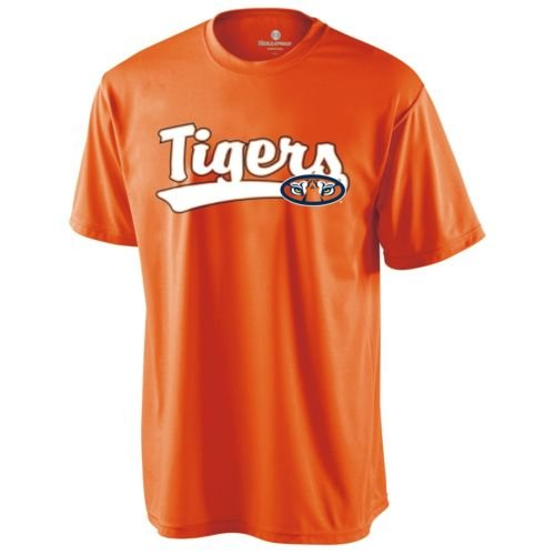 CREWNECK AUBURN TIGERS Dry Excel Wicking Tee YOUTH LARGE Licensed NCAA College Replica Jersey at Amazon.com