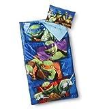 Teenage Mutant Ninja Turtles Sleeping Bag With Pillow Sleep Over Set
