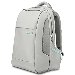 Spigen Klasden 3 Backpack with Water Resistant Coating and 15 inch Laptop Compatibility for All Laptops up to 15 inches - Gray