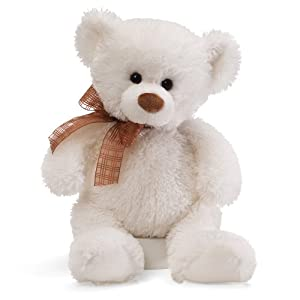 "Gund Frosting White Bear 10"" Plush, Medium by Gund"