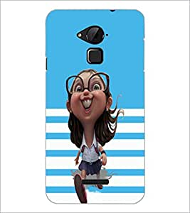 PrintDhaba Funny image D-4775 Back Case Cover for COOLPAD NOTE 3 LITE (Multi-Coloured)