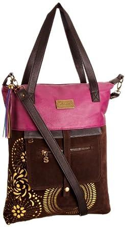 Desigual Tasche, Bols Shopping Noir Bicolor, 27X5097