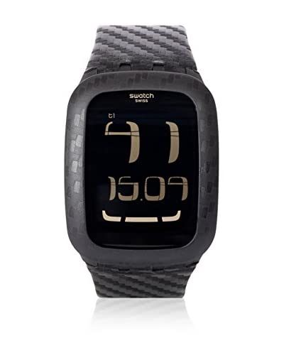 Swatch Reloj de cuarzo Man CARBON FEVER SURB110 39 mm