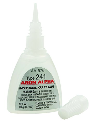 Aron Alpha Type 241 (40 cps viscosity) Regular Set Instant Adhesive 20 g (0.7 oz) Bottle - 1