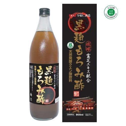 黒麹 琉球もろみ酢 <霊芝エキス配合> 900ml