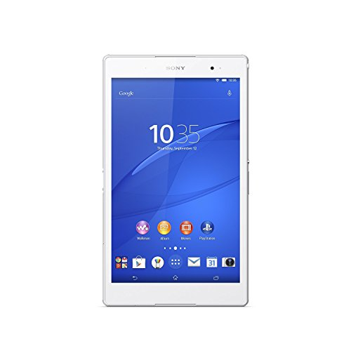 SONY XPERIA Z3 TABLET COMPACT SGP621 16GB WHITE , 8″, 4G/LTE + WI-FI Unlocked International GSM model – No Warranty