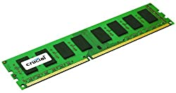 Crucial 8GB Single DDR3L 1600MT/s PC3-12800 DR x8 ECC UDIMM 240-Pin Server Memory CT102472BD160B