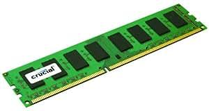 Crucial CT51264BA1339 Mémoire RAM 4 Go DDR3 1333 MT/s (PC3-10600) CL9 Unbuffered UDIMM 240pin