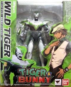 S.H Figuarts Wild Tiger Movie Edition Tiger /& Bunny Action Figure Exclusive
