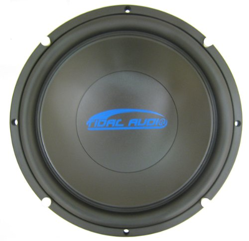 "Ref-Tm12.4 - 12"" Tidal Audio Subwoofer Dual 4 Ohm Oem By Image Dynamics"
