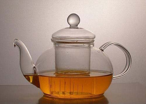 Heat Resistant Glass Teapot With Removable Infuser 24 Oz