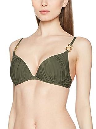 Chantelle Sujetador de Bikini (Verde Militar)