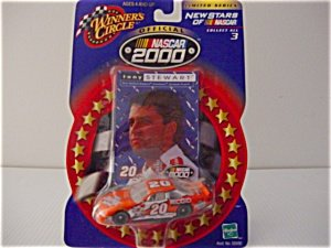 Winner's Circle - New Stars of NASCAR - Tony Stewart - 1:64 Die-cast Collectible - 1