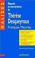 Thérèse Desqueyroux : Résumé analytique, commentaire critique, documents complémentaires