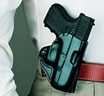 Desantis Top Cop Holster fits Glock 19, 23, 32, 36, Left Hand, Tan