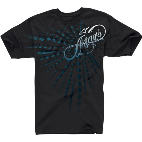 Alpinestars Leopold T-Shirt , Gender: Mens/Unisex, Distinct Name: Leopold Black, Primary Color: Black, Size: 2Xl 103272039102Xl