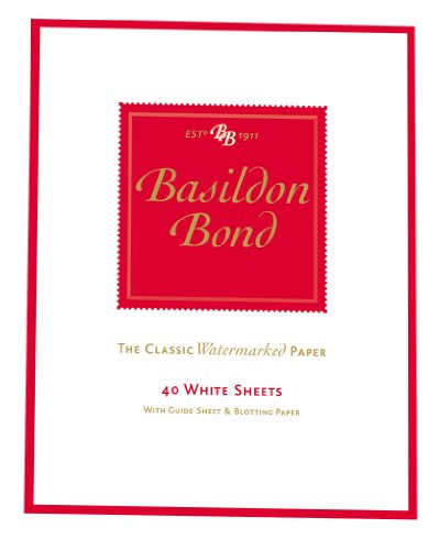 Basildon Bond Duke Writing Pad 178x137mm 90 Pages 40 Sheets - Color: White