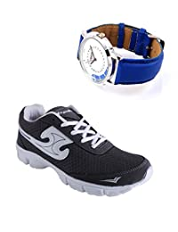 Elligator Sports Shoes With Lotto Blue Watch - B00WSA5Y6U
