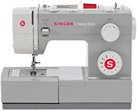 SINGER 4411 Heavy Duty Extra-High Sewing Speed 11-Stitch Sewing Machine with Metal Frame and Stainless Steel Bedplate