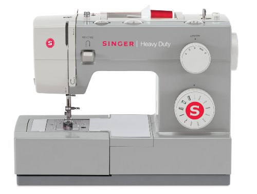 SINGER 4411 Heavy Duty Extra-High Sewing Speed Sewing Machine with Metal Frame and Stainless Steel Bedplate (Singer Sewing Embroidery Machine compare prices)