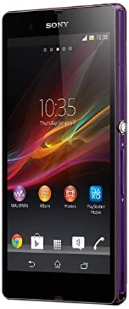 Sony Xperia Z UK SIM-Free Smartphone - Purple