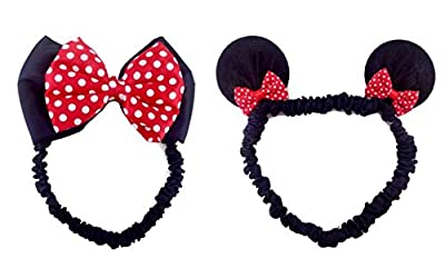 Disney Mickey Mouse Ears Baby Elastic Headband Costume Accessory :M3