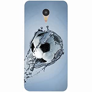 Casotec Football In Water Design 3D Printed Hard Back Case Cover for Yu Yunicorn