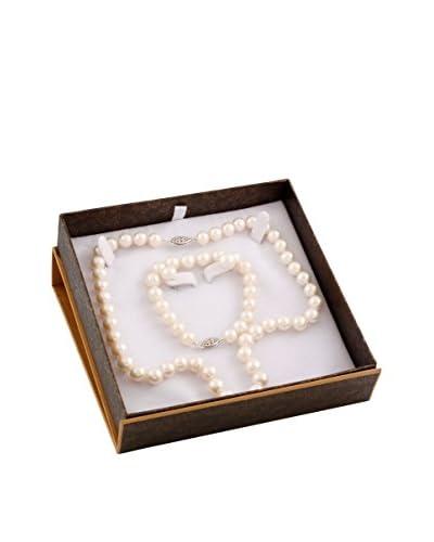 Splendid 3-Piece 8-9mm White Pearl Set