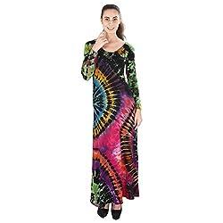 Tenn Women's Maxi Dress (MCBD11FSS_Large_Multi)