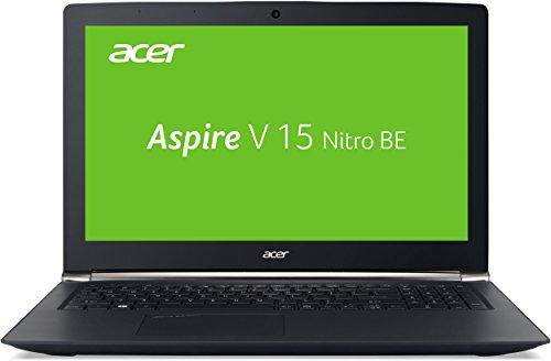 Acer Aspire V 15 Nitro Black Edition (VN7-592G-56JV) 39,6 cm (15,6 Zoll Full HD) Notebook (Intel Core i5-6300HQ, 8GB RAM, 1TB HDD, 256GB SSD, Nvidia GeForce GTX 960M, Win 10 Home) schwarz