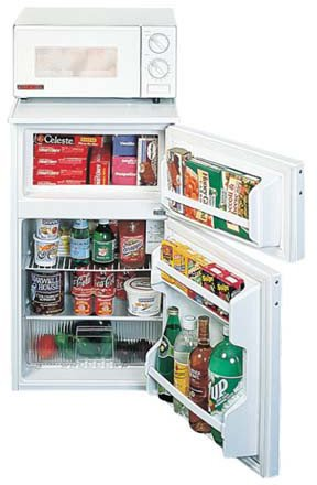 Summit Two Door Refrigerator, 45 X 19 X 21 Inch -- 1 Each.