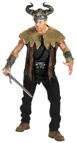 Disguise Inc Mens Nordic Viking Deluxe Adult Costume