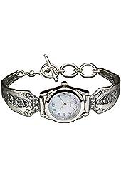 Silver Spoon Silver Ladies Mother of Pearl Watch Unique Empire