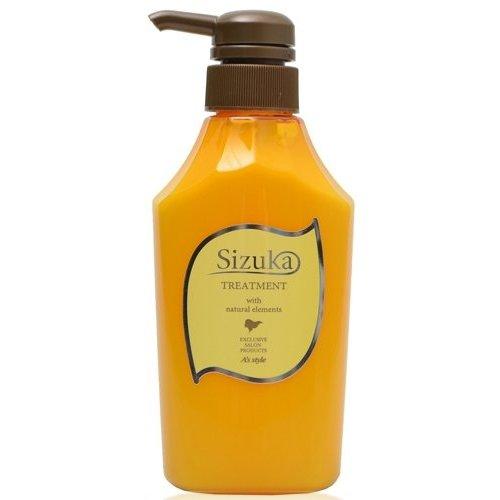 アズスタイル Sizuka 雫髪 トリートメント400g 細い髪用 ボトルタイプ