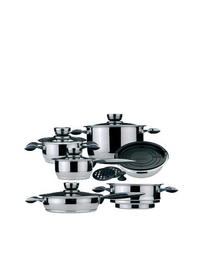 BergHOFF Pride 16-Piece Cookware Set, Silver