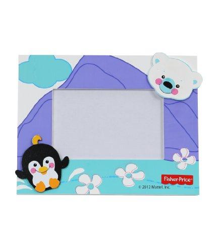 FP Photo Frame Color Penguin - Black, 4 x 6