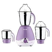 Preethi Lavender 600-Watt Mixer Grinder