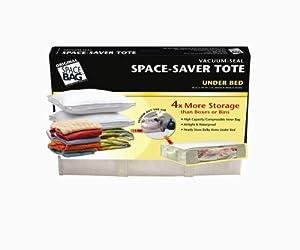 Space Bag WBTS-9010UT Large Vacuum-Seal Under-the-Bed Storage Tote