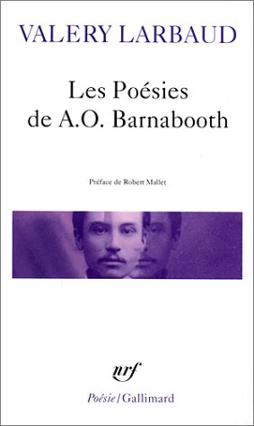 Poes de A O Bar Poesie (Poesie/Gallimard) (French Edition)