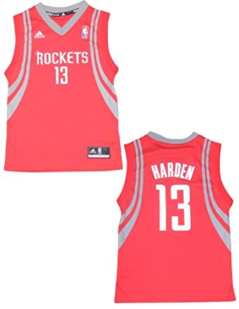NBA Houston Rockets Harden #13 Youth Pro Quality Athletic Jersey Top by NBA