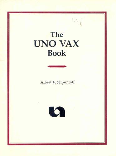 The Uno Vax Book
