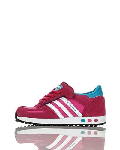adidas Sneaker L.A. Trainer Cf I [Fucsia/Bianco/Blu]