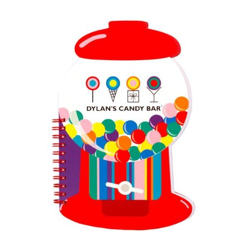 Dylan's Candy Bar Scented Notebook - Gumball Machine